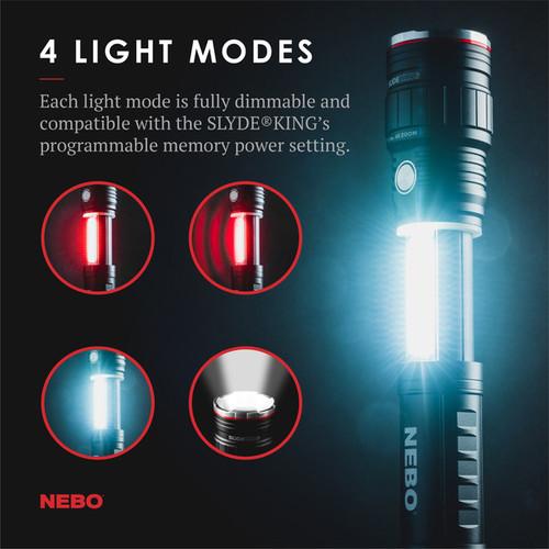 Nebo Slyde King Rechargeable Flashlight