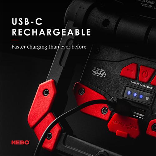 Nebo Omni 2k Rechargeable Work Light