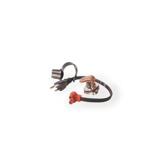 "Freeze Plug Heater- 1.25"", 600w, 120v- Case / New Holland, Ford Tractor (Zerostart 3100133)"