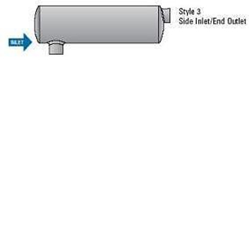 Diagram of muffler type