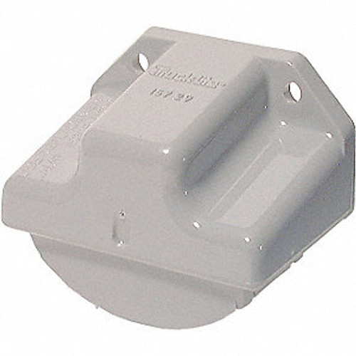 MODEL 15 LICENSE MOUNTING BRACKET  GRAY (15729)