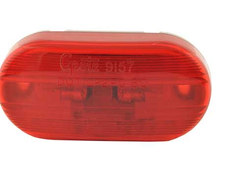 Grote 45432 Red Two-Bulb No-Splice Clearance Marker Light
