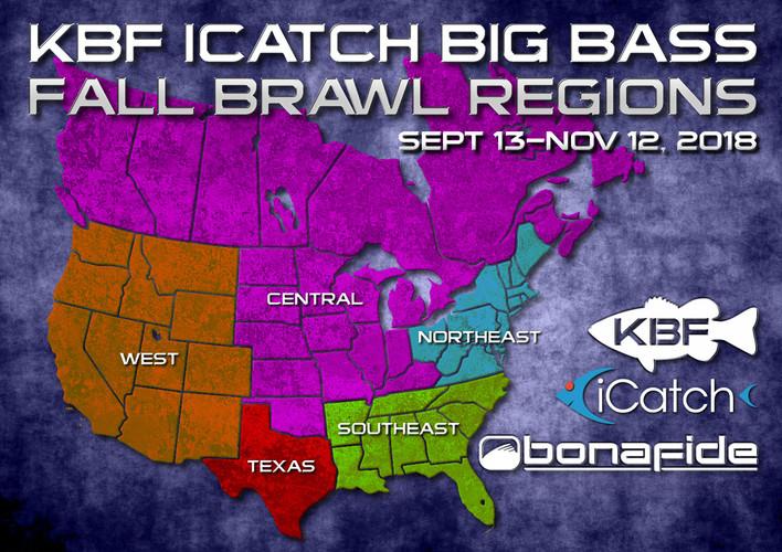 KBF iCatch Big Bass Fall Brawl
