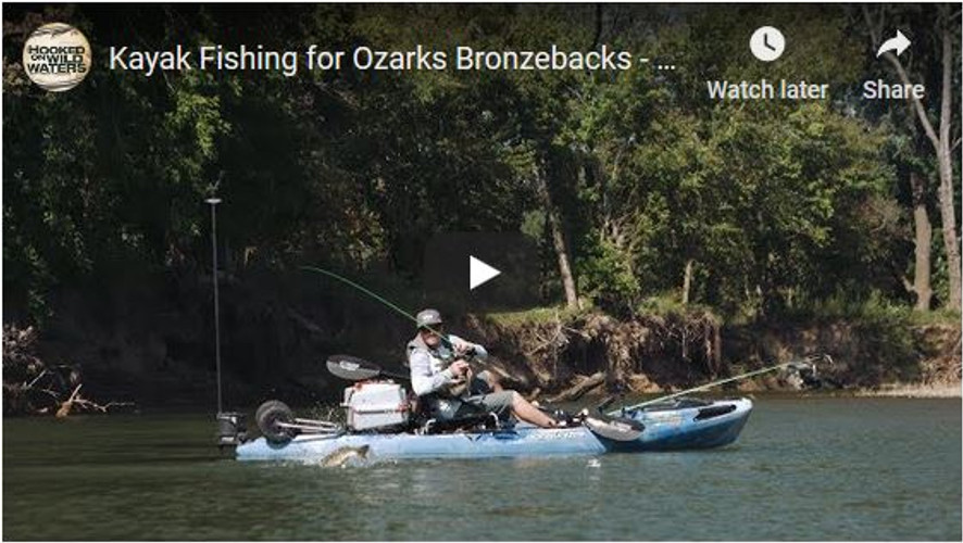 VIDEO: Hooked On Wild Waters S4,  E6 - Smallmouth on the Gasconade River