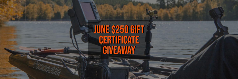 June Giveaway - 2021