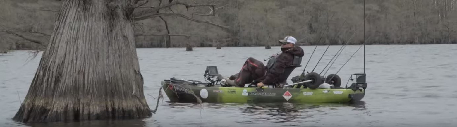 VIDEO: Toad Trips Lake Caddo | Kayak Bass Fishing