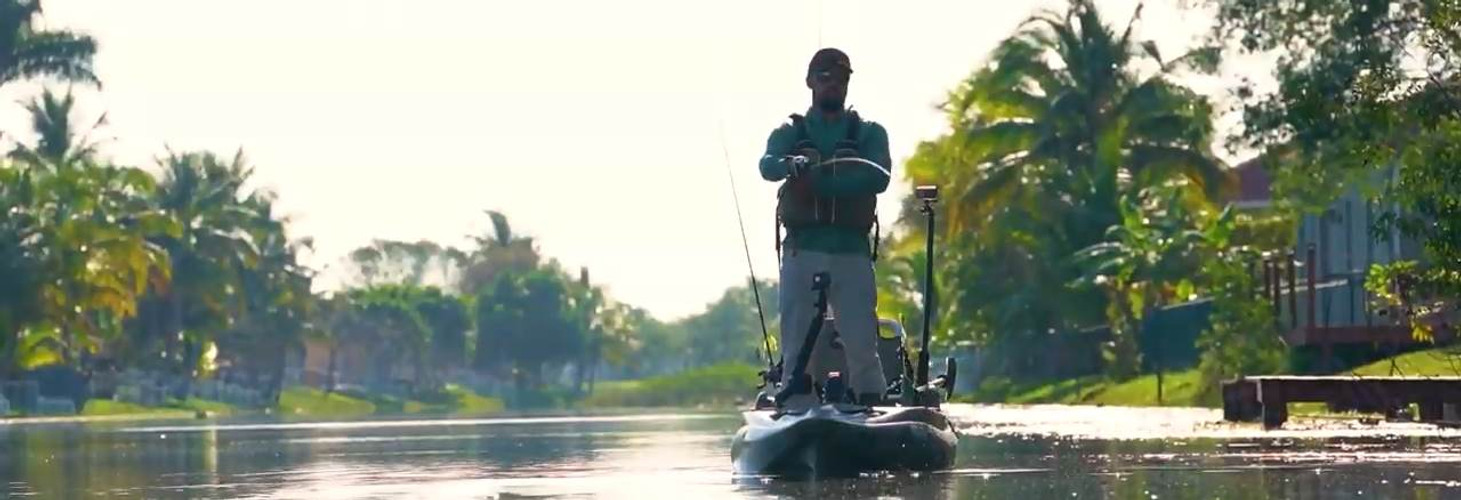 How To Kayak Fish South Florida | Episode 2: Peacock Bass with Robwil Valderrey and Denes Szakacs