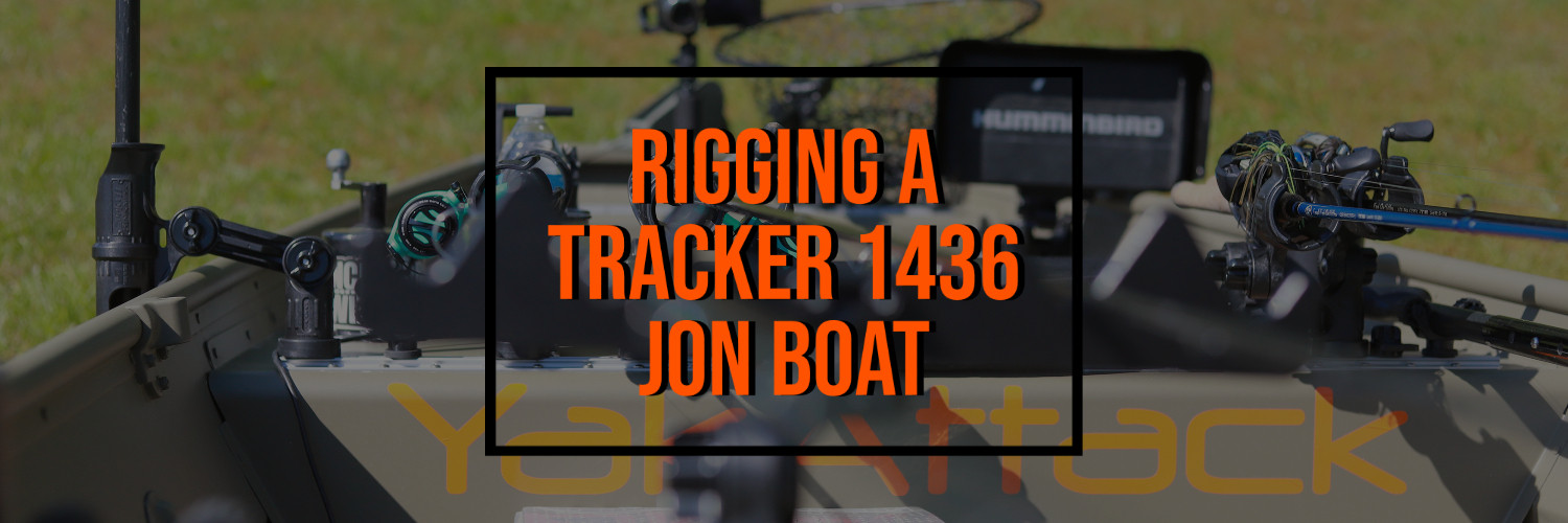 Rigging a Tracker 1436 Jon Boat with Jeff Little of Torqeedo