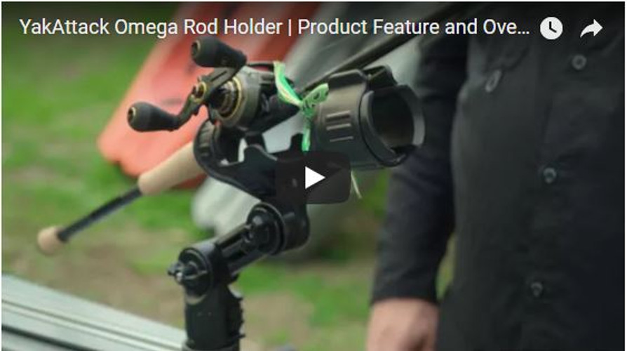 VIDEO: Chad Hoover Talks about the New Omega Pro Rod Holder