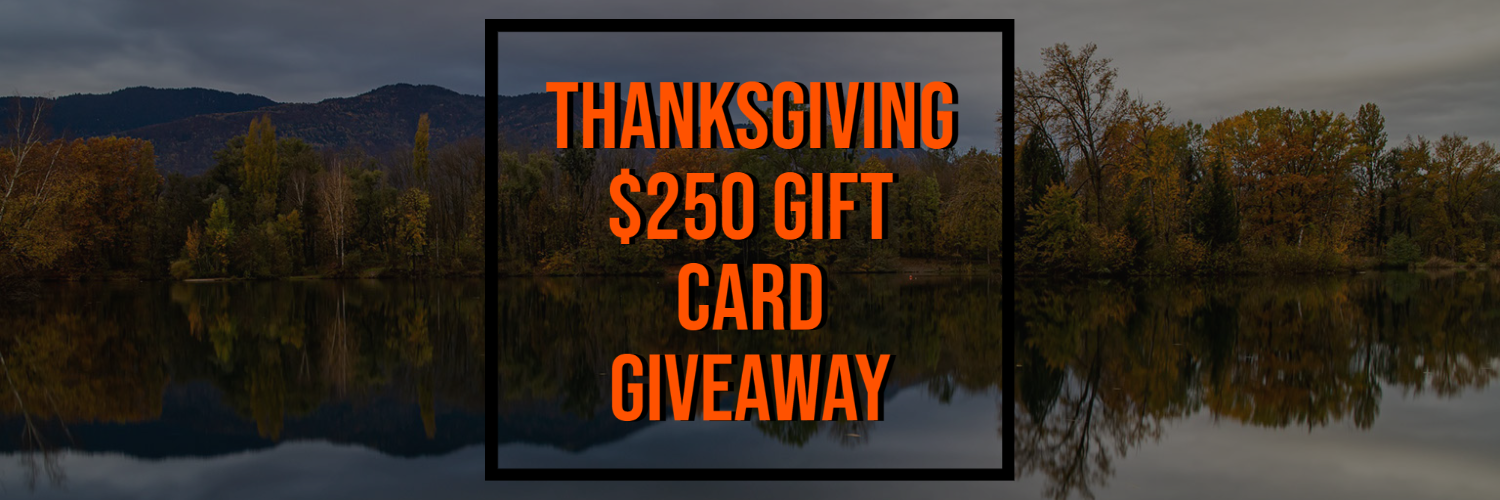 Thanksgiving $250 Gift Card Giveaway