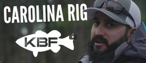VIDEO: How to Fish the Carolina Rig Featuring Eric Siddiqi | Kayak Bass Fishing