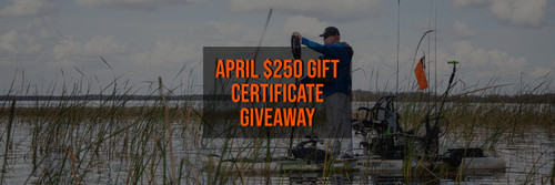 April $250 Gift Certificate Giveaway