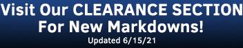 Clearance & Sale