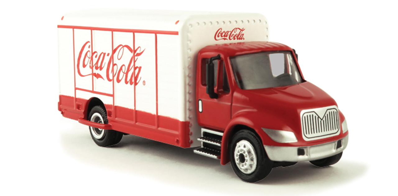 International Coca-Cola Beverage Truck 1:87 Scale Diecast Model by Motor  City