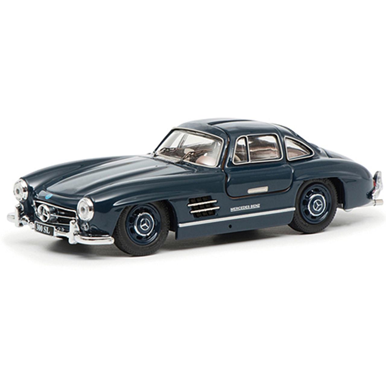 OVP 25340 Mercedes 300 SL Gullwing silber-schwarz 1:87 Schuco neu