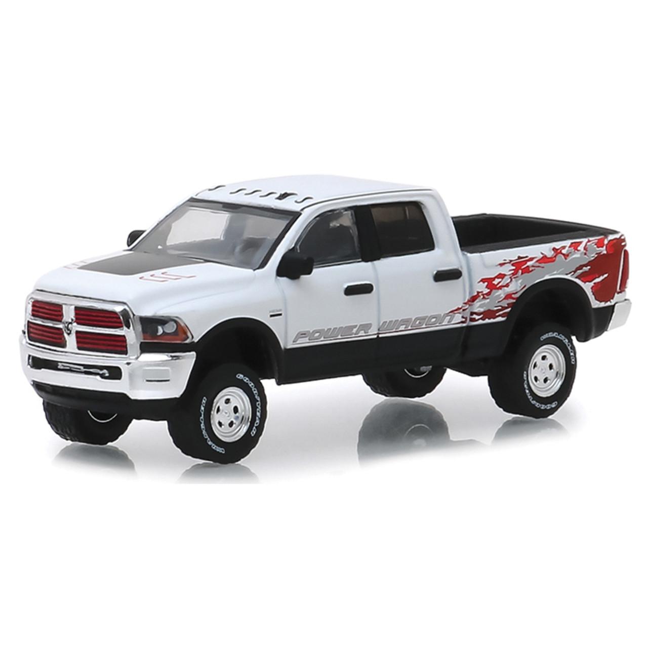 2016 Ram 2500 >> 2016 Ram 2500 Power Wagon White 1 64 Scale Diecast Model By Greenlight