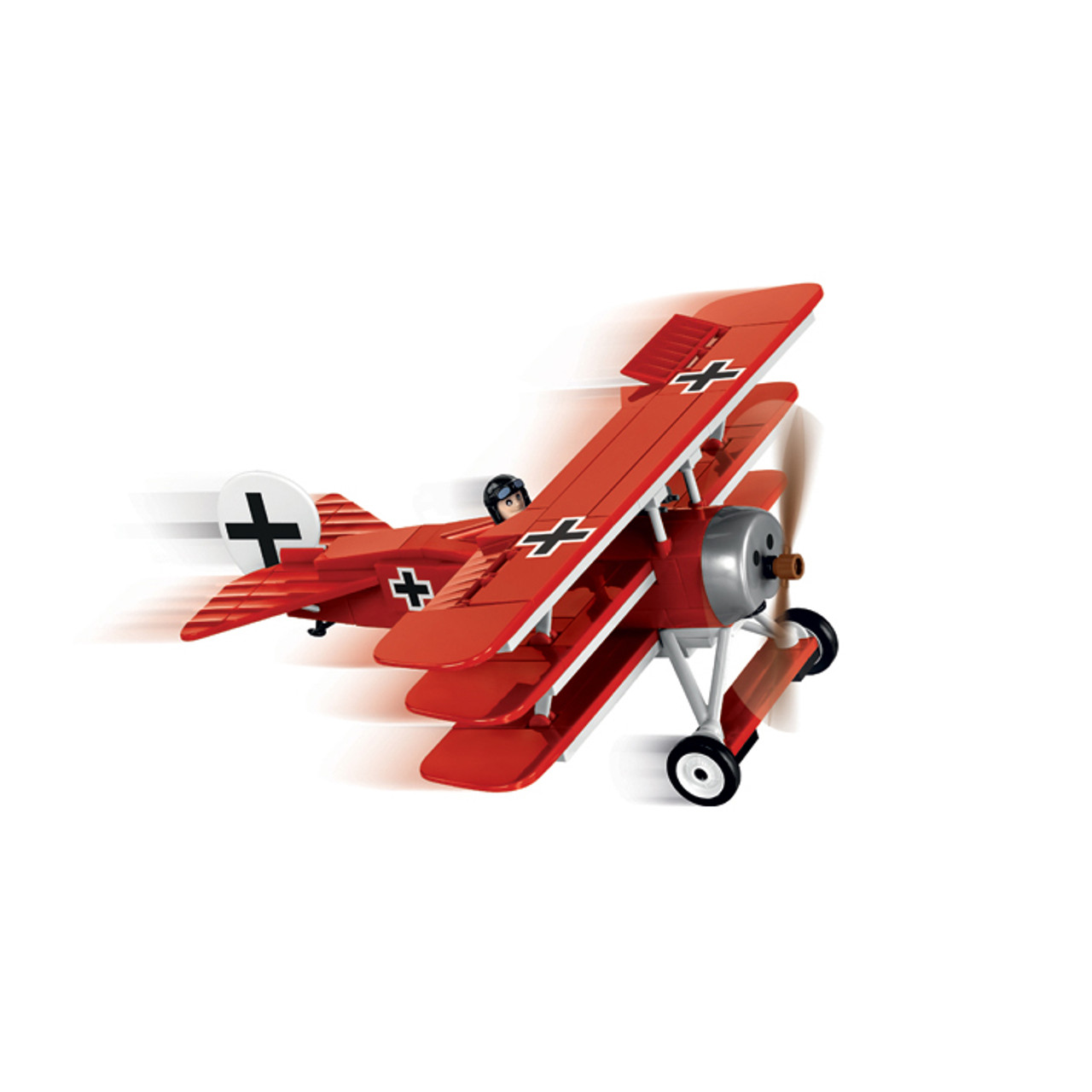 Fokker DR 1 Red Baron Triplane Diecast Model by Cobi Toys