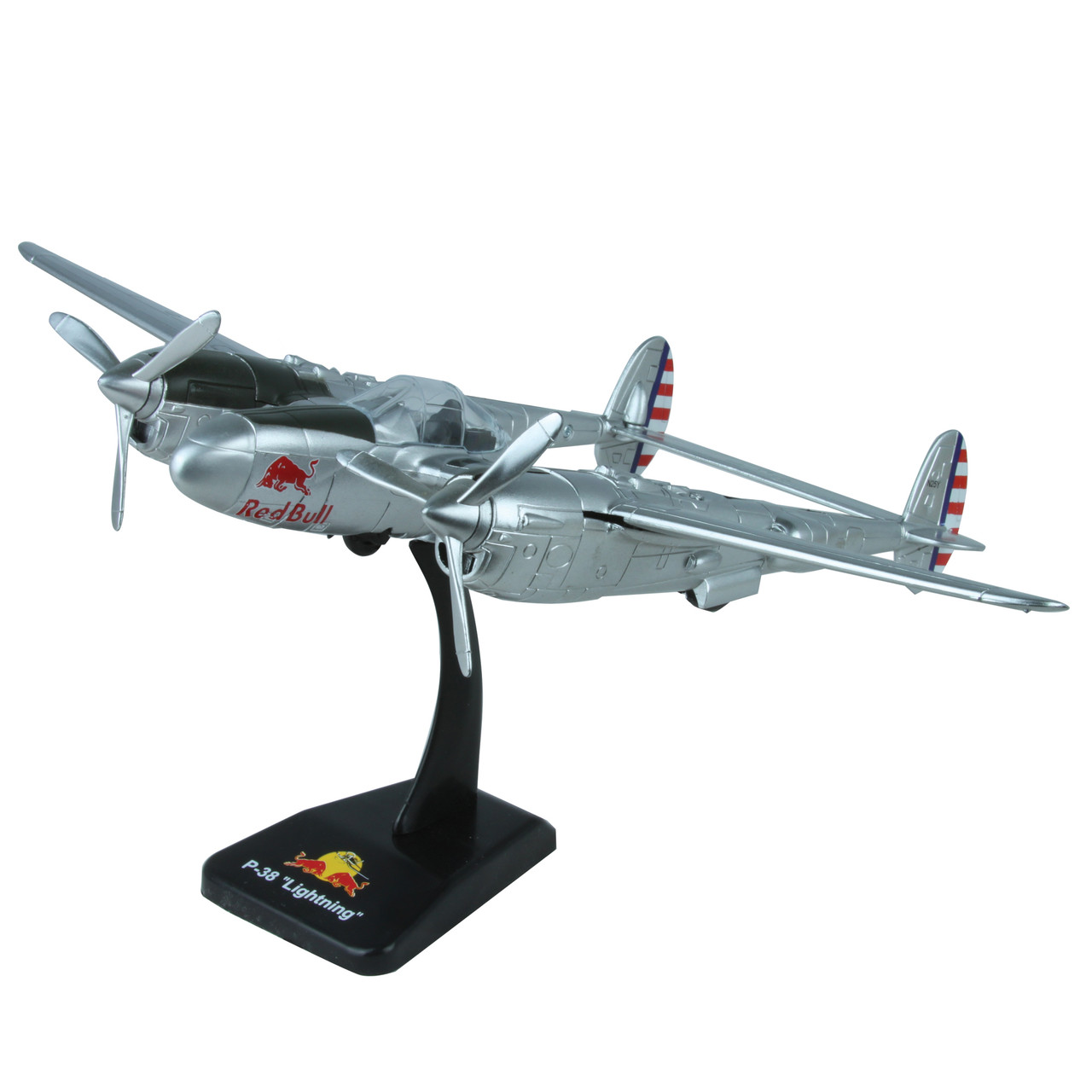 Flying Bulls P-38 Lightning 1:48 Scale Diecast Model by New Ray