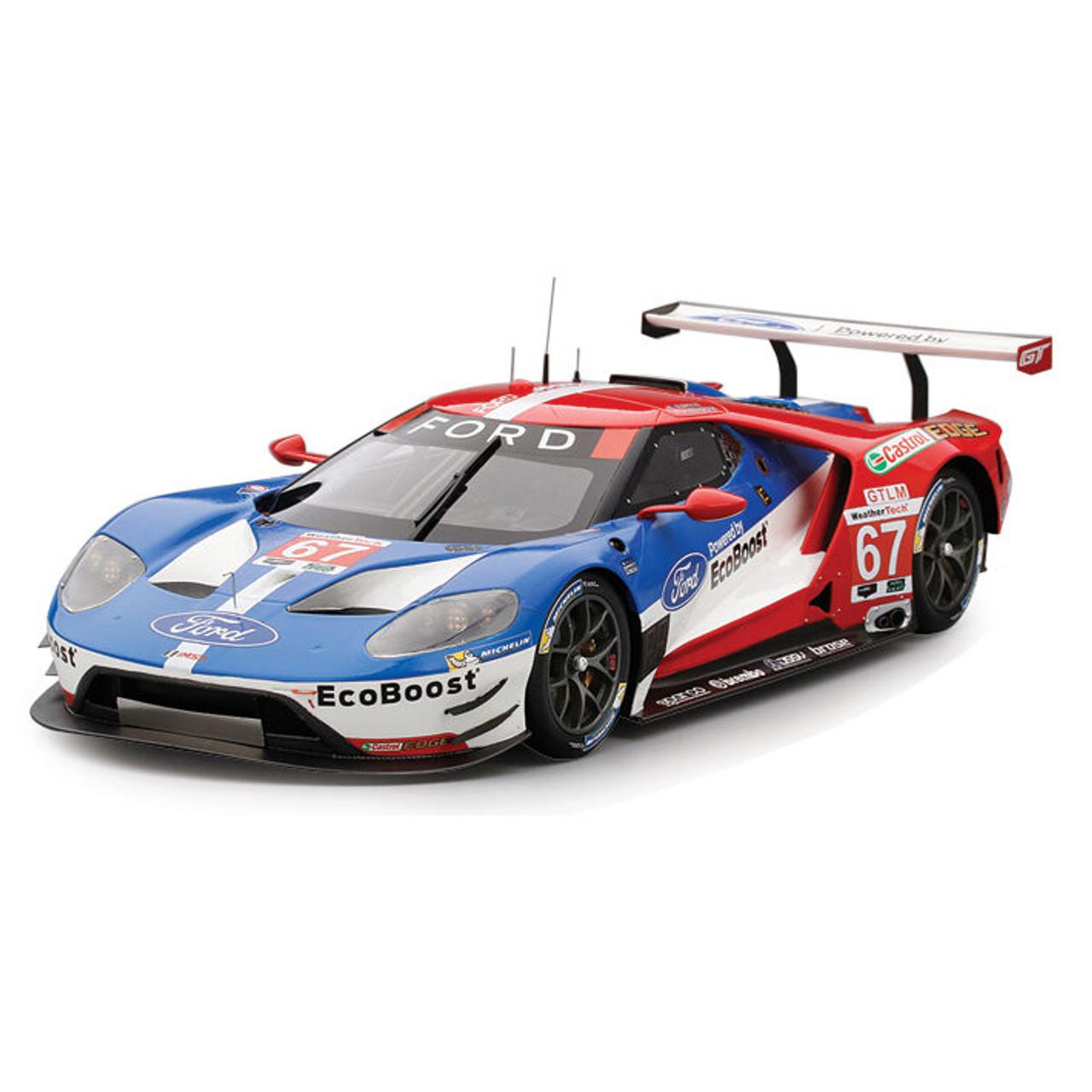 2016 Ford Gt Top Speed >> 2016 Imsa Ford Gt Laguna Seca Grand Prix Winner 1 18 Scale Diecast Model By Top Speed