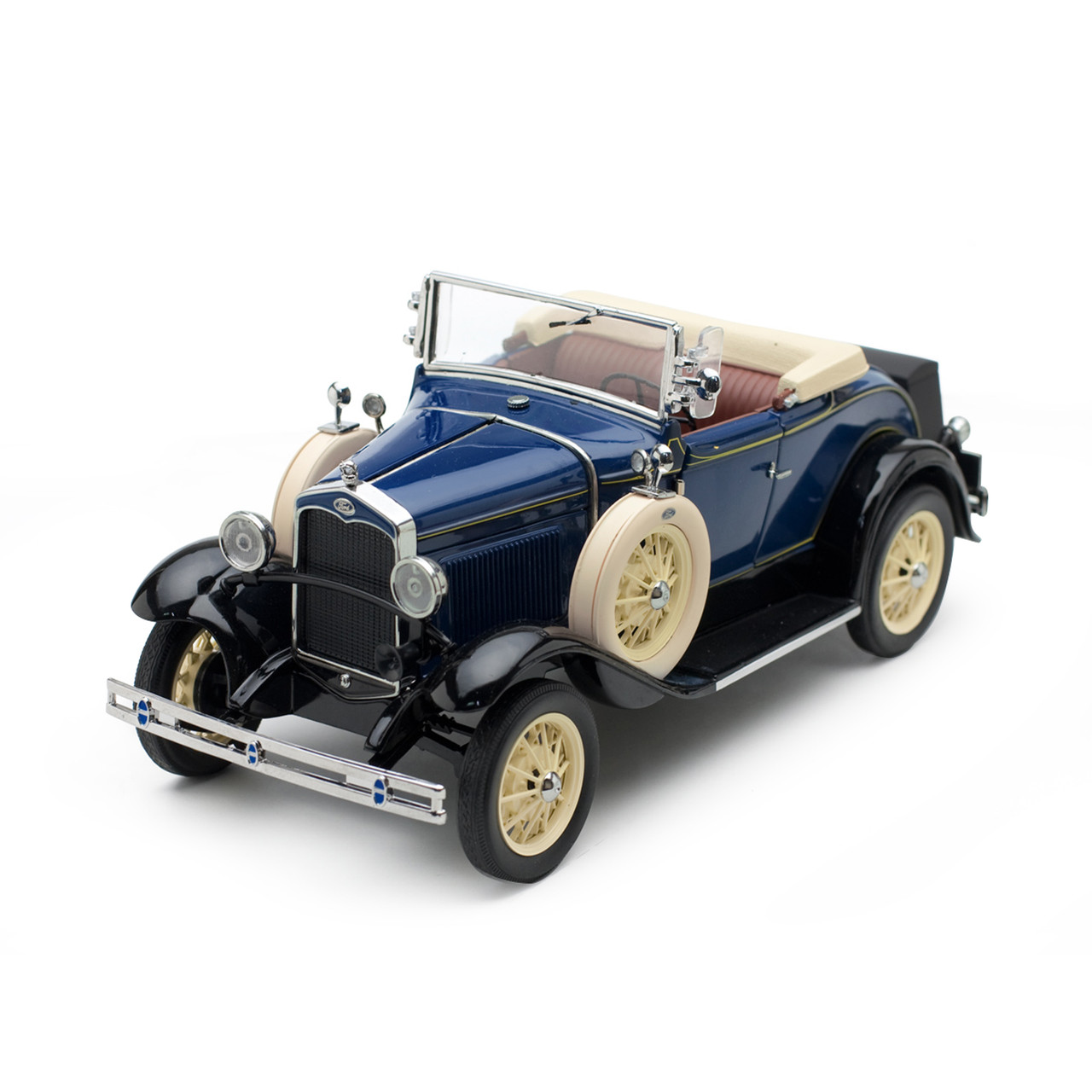 1931 Ford Model A Roadster Blue 1 18 Scale Diecast Model By Sunstar Fairfield Collectibles The 1 Source For High Quality Diecast Scale Model Cars