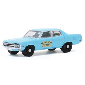 1971 AMC Matador POLICE Yonkers New York  **** Greenlight Hot Pursuit 1:64 NEU