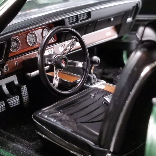 1970 Olds 442 W-30 - Sherwood Green 1:18 Scale Diecast Model by Acme