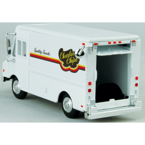 For O Scale Layouts! AHM Charles Chips DELIVERY TRUCK Step Van 1:48 Scale New