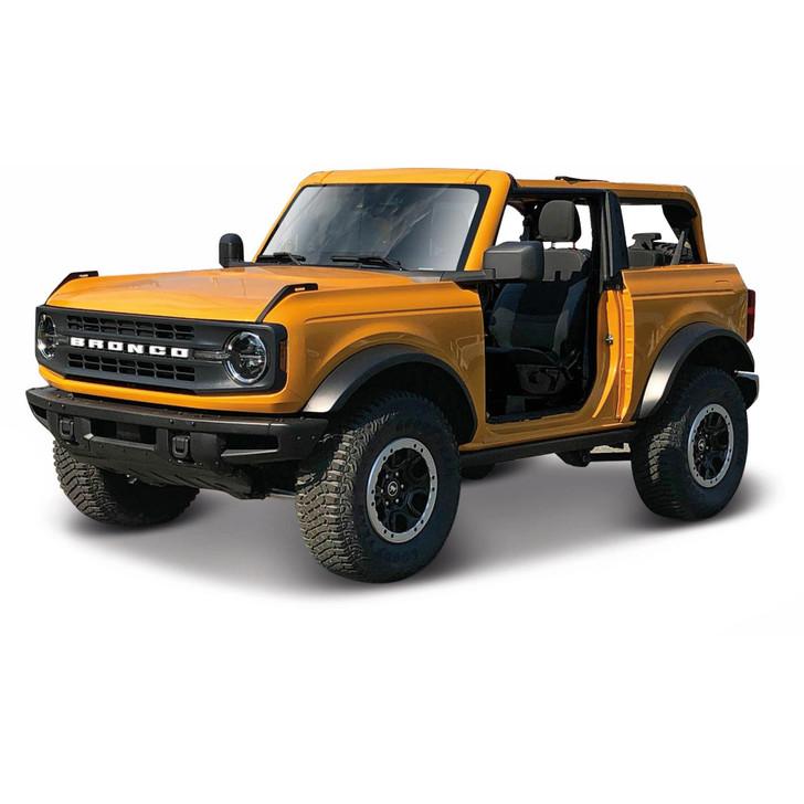 2021 Ford Bronco Badlands - Orange Main Image