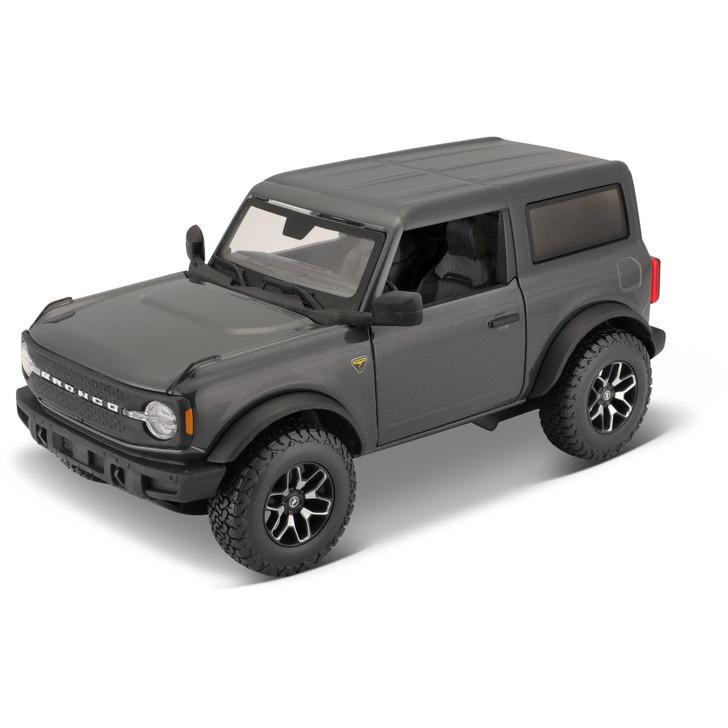 2021 Ford Bronco Badlands - Gray Main Image
