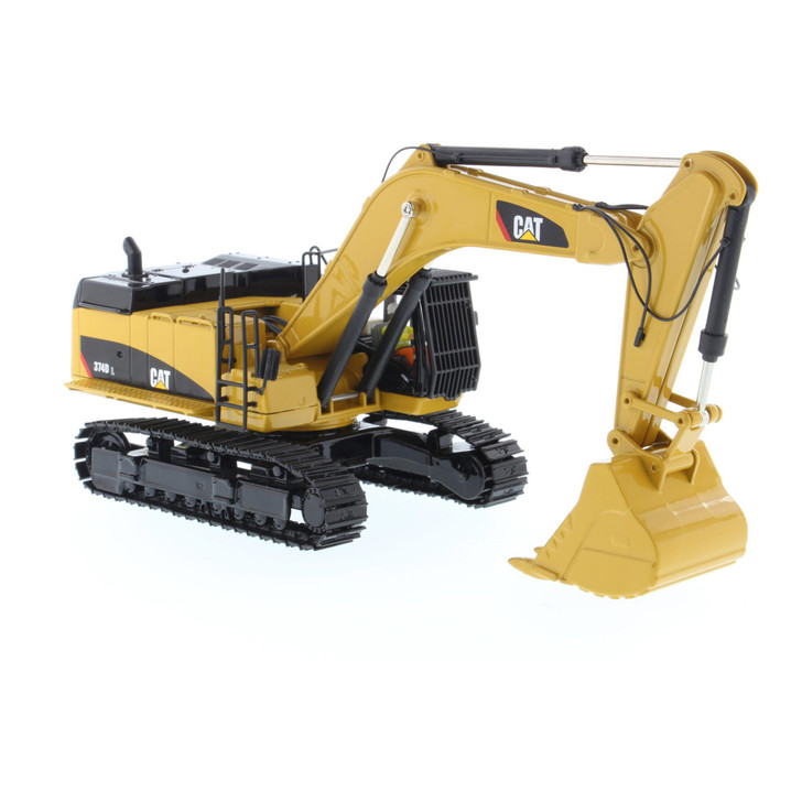 Caterpillar CAT 374D L Hydraulic Excavator 1:50 Scale Diecast Model by Diecast Masters Main Image