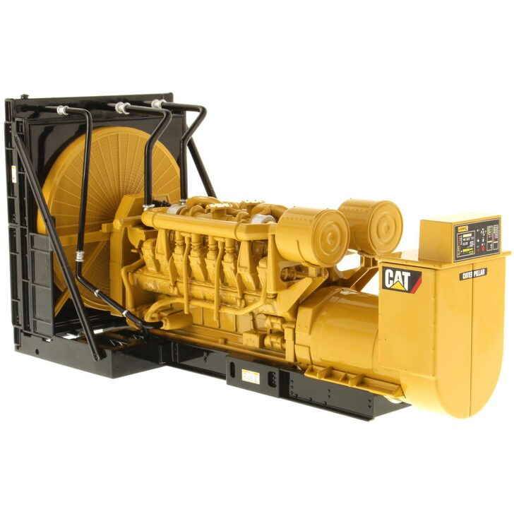 Caterpillar CAT 3516B Package Generator Set 1:25 Scale Diecast Model by Diecast Masters Main Image