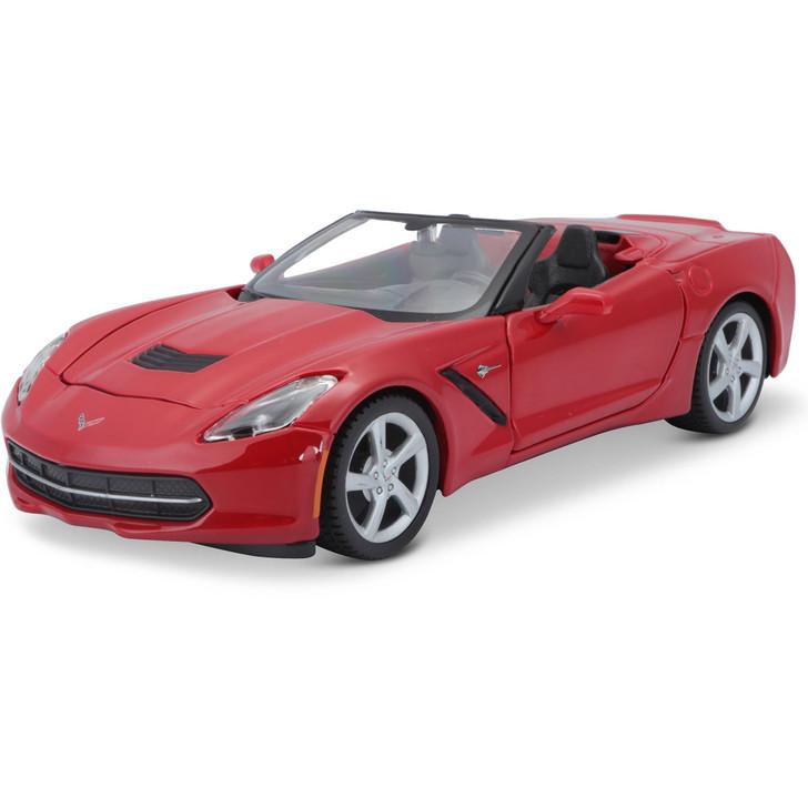 2014 Red Corvette Stingray Convertible Main Image