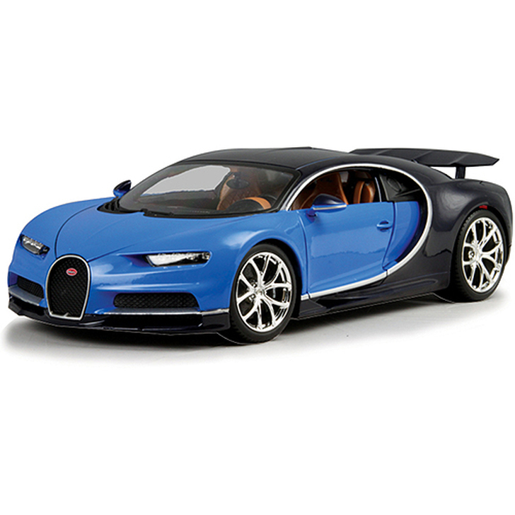 Bugatti Chiron Supercar - blue Main Image