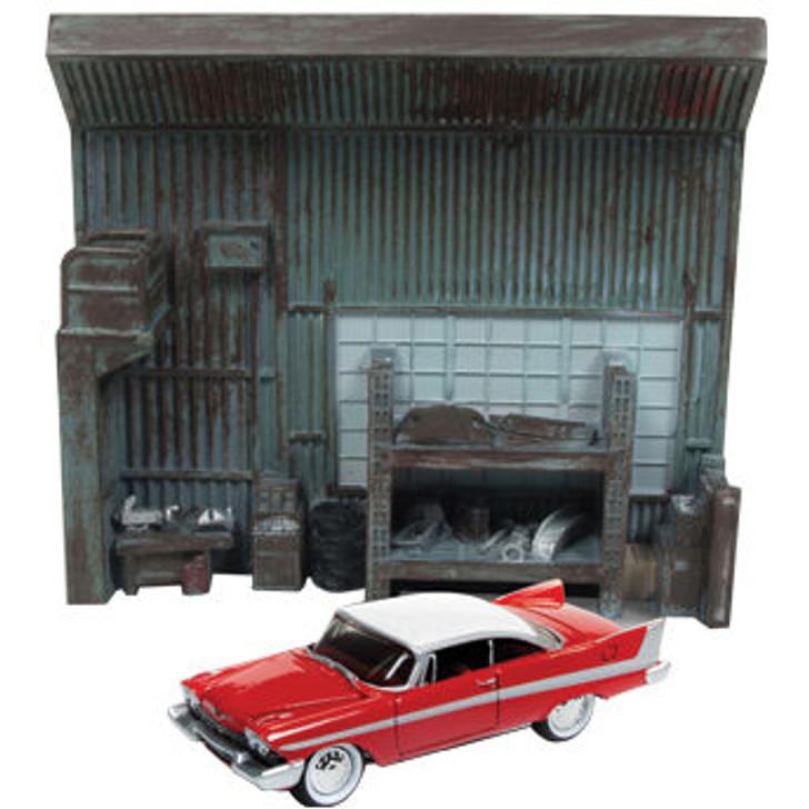 Christine 1958 Plymouth Fury Darnell's Garage Diorama Main Image