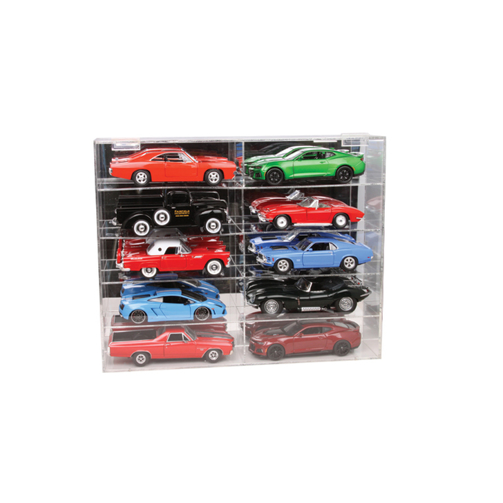 1:24 Scale Ten Car Display Case Main Image