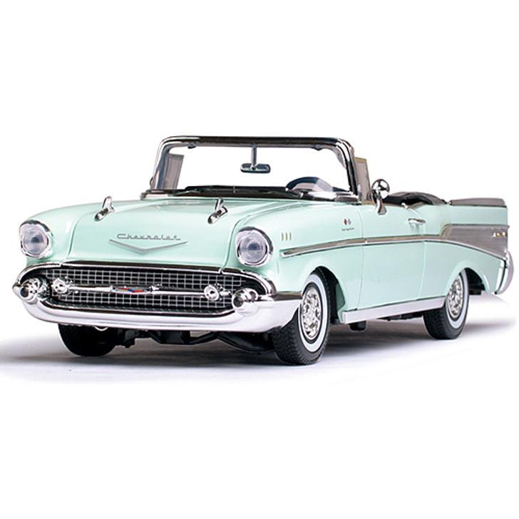 1957 Chevy Bel Air Convertible - Mist Green Main Image