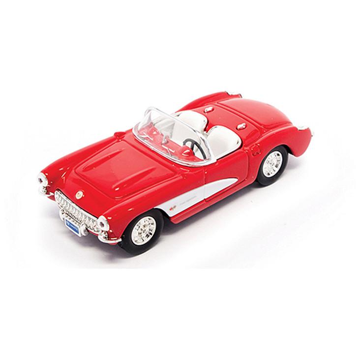 1957 Red Corvette Main Image