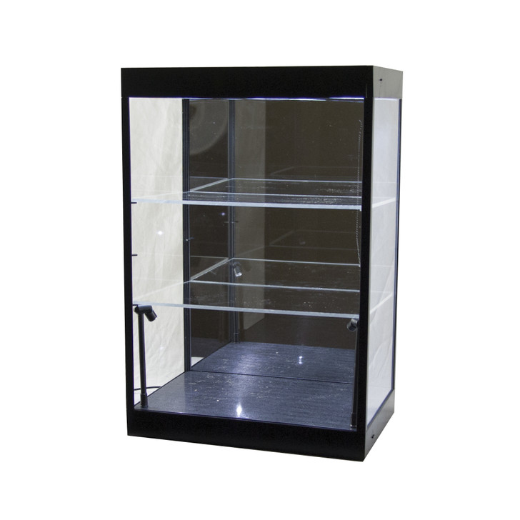 Three Tier 1:18 Scale Lighted LED Display Case Main Image