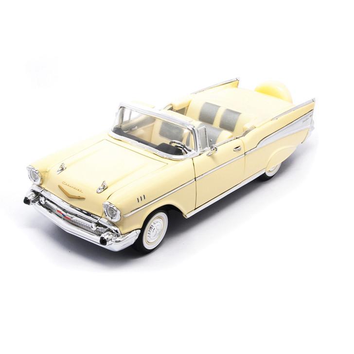 1957 Chevy BEL AIR - Cream Main Image