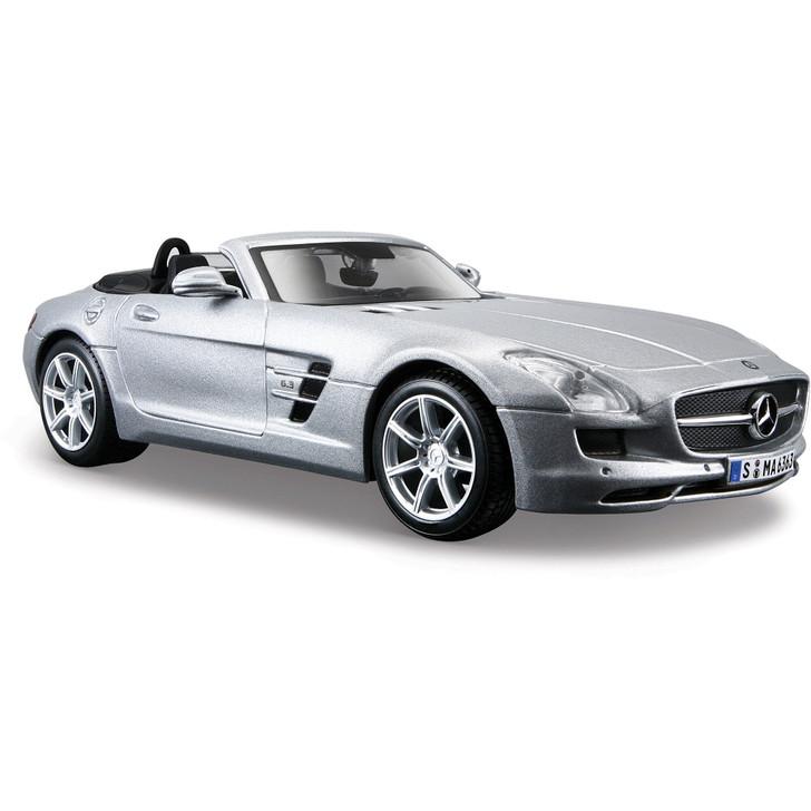 Mercedes-Benz SLS AMG Cabriolet - silver Main Image