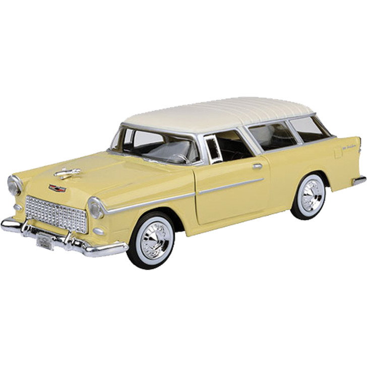 1955 Chevy Bel Air Nomad - Yellow Main Image