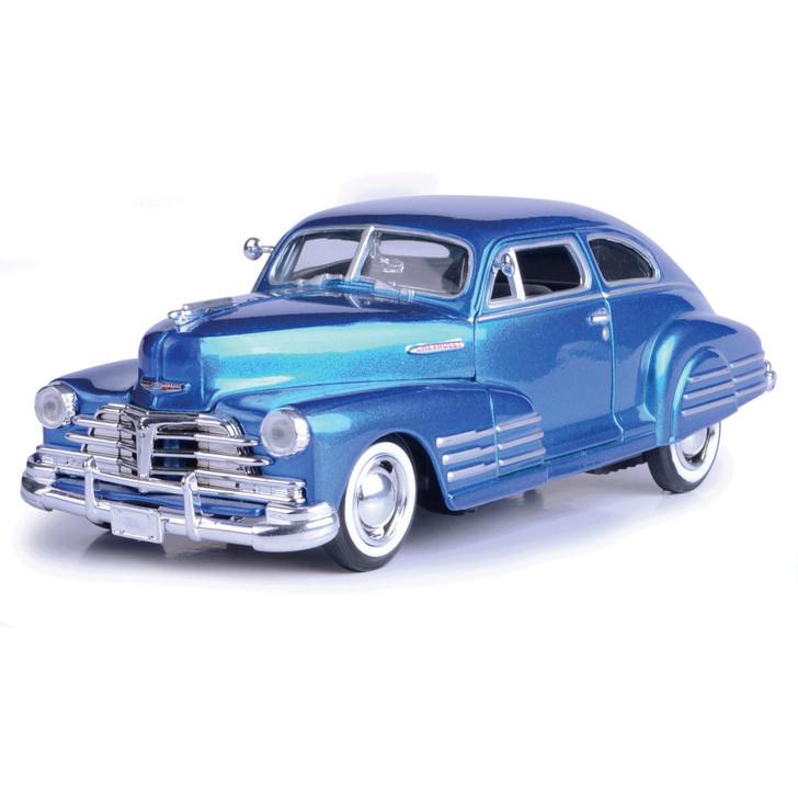 1948 Chevy Aerosedan Fleetline - Metallic Blue Main Image