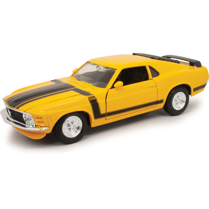 1970 Ford Mustang Boss 302 - Yellow Main Image