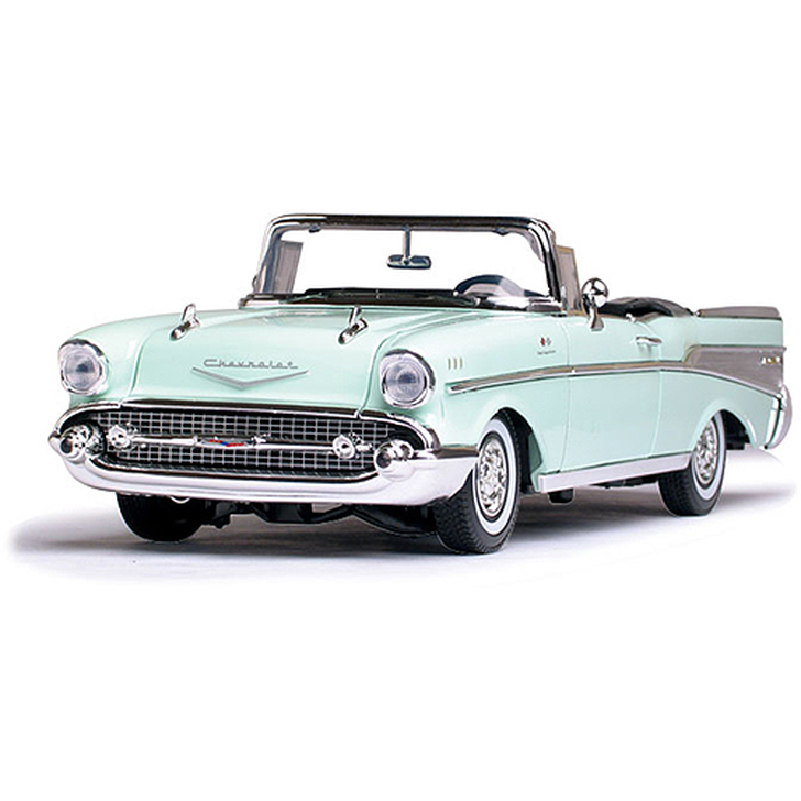 1957 Chevy Bel Air Convertible - surf green Main Image