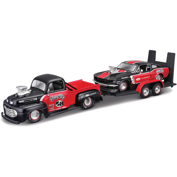 1948 Ford F1 & 1967 Mustang GT Design Main Image