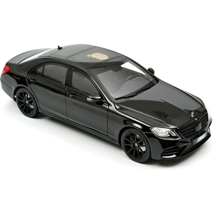 2018 Mercedes-Benz S-Class AMG-Black Line Main Image