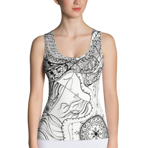 Tale of faces Tank Top