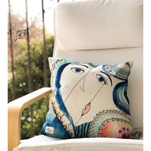 Picasso's Daughter pillow