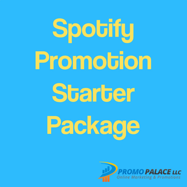 Spotify Promotion Starter Package