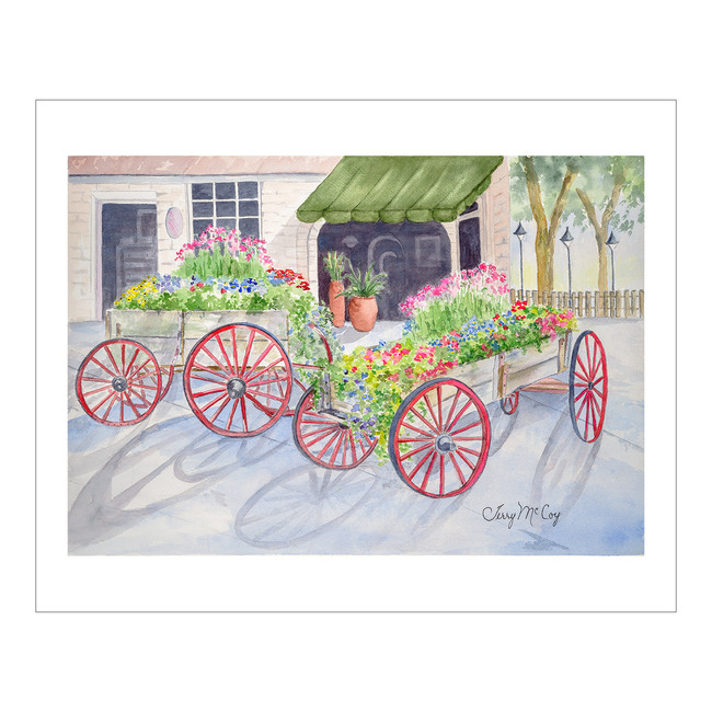 Savannah Flower Carts
